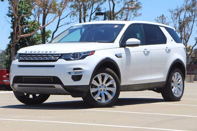 Certified Pre-Owned 2017 Land Rover Discovery Sport HSE LUX