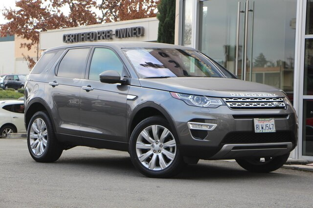 Certified Pre-Owned 2019 Land Rover Discovery Sport HSE LUX 4WD