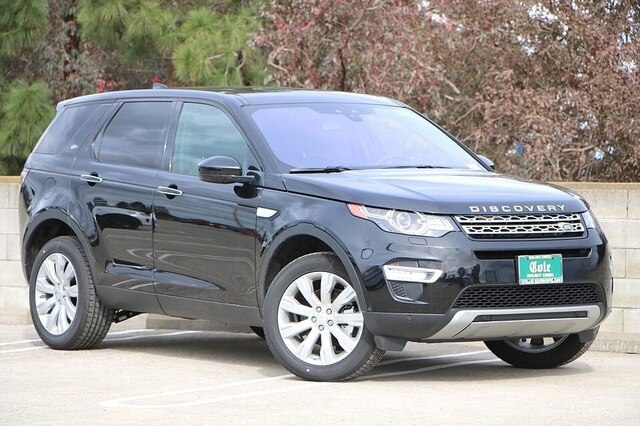 New 2019 Land Rover Discovery Sport HSE LUX 4WD