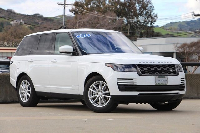 Certified Pre-Owned 2018 Land Rover Range Rover 3.0L V6 Turbocharged Diesel Td6 4WD