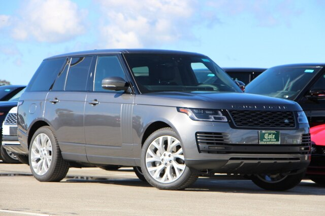 New 2019 Land Rover Range Rover 3.0L V6 Supercharged 4WD