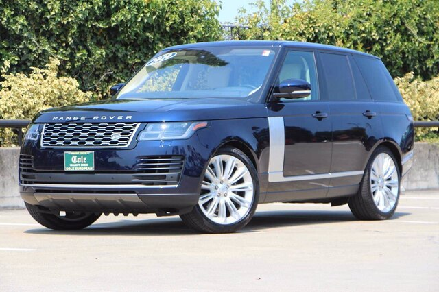 Certified Pre-Owned 2020 Land Rover Range Rover HSE With Navigation & 4WD