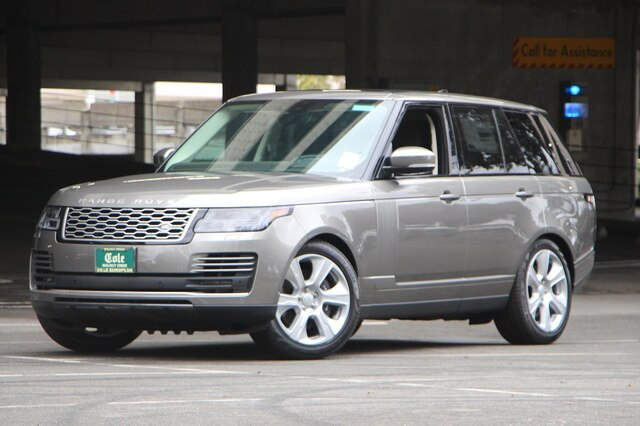 New 2020 Land Rover Range Rover P525 HSE 4WD