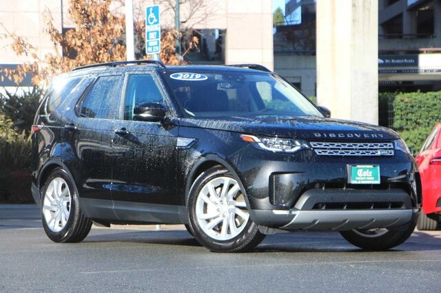 Certified Pre-Owned 2019 Land Rover Discovery HSE 4WD