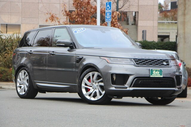 Pre-Owned 2019 Land Rover Range Rover Sport Supercharged Dynamic 4WD