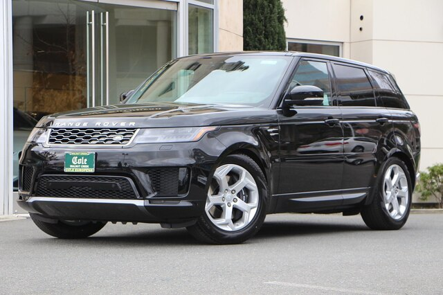 New 2020 Land Rover Range Rover Sport HSE PHEV With Navigation & 4WD