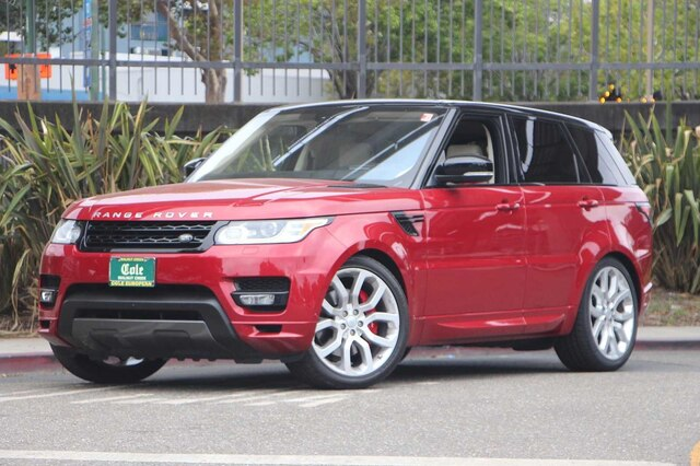 Certified Pre-Owned 2017 Land Rover Range Rover Sport 5.0L V8 Supercharged Autobiography