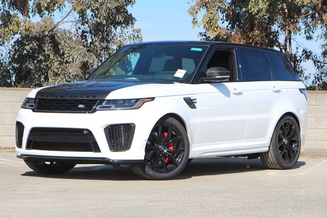 New 2020 Land Rover Range Rover Sport SVR With Navigation & 4WD