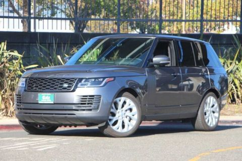 Certified Pre-Owned 2019 Land Rover Range Rover 3.0L V6 Supercharged