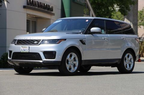 Certified Pre-Owned 2019 Land Rover Range Rover Sport HSE Td6