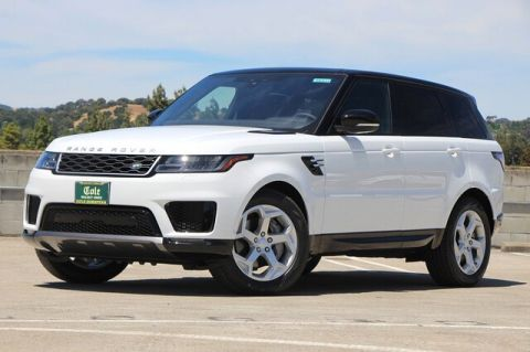 New 2020 Land Rover Range Rover Sport HSE MHEV